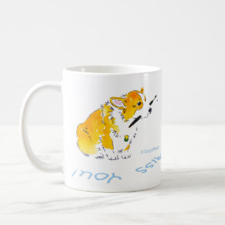 Miss You Corgis Mug