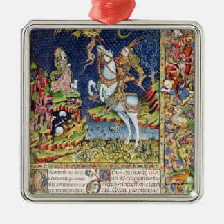Missal of St. George of Topusko Metal Ornament