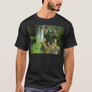 Missie T in the forest.png T-Shirt