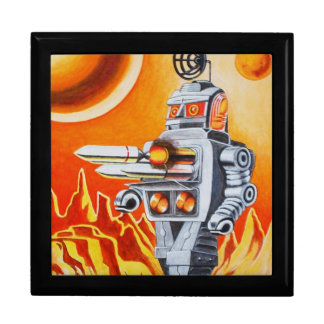 MISSILE ROBOT LARGE SQUARE GIFT BOX