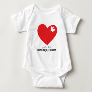 Missing Piece of my Heart Baby Bodysuit