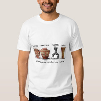 Missing pieces from the Iraq Museum Shirt