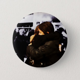 Missing you already... 6 cm round badge
