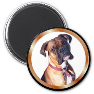 Missing You Boxer 6 Cm Round Magnet