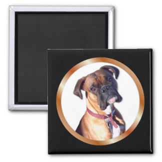 Missing You Boxer Square Magnet