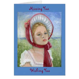"""Missing You"" card"
