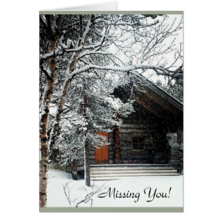 Missing You! Greeting Card, Standard Greeting Card