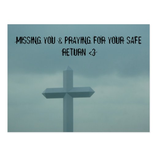 MISSING YOU POST CARD