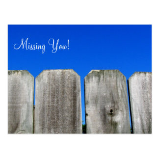 Missing You! Post Cards