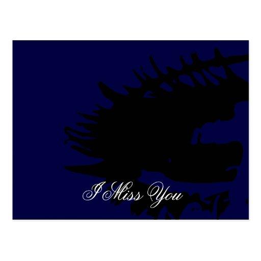 Missing You Postcard