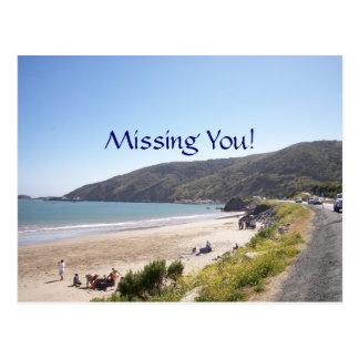 Missing You! Postcard