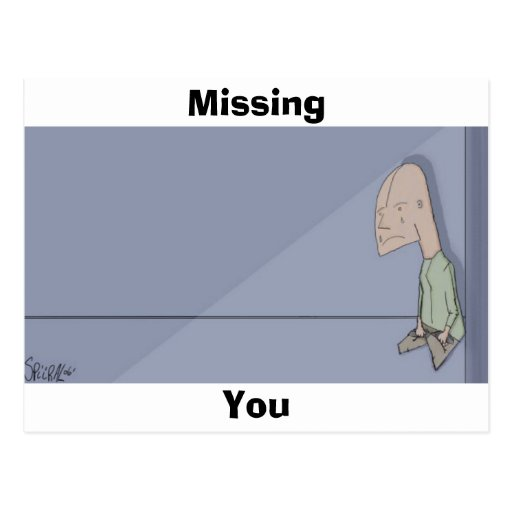 Missing You Postcards