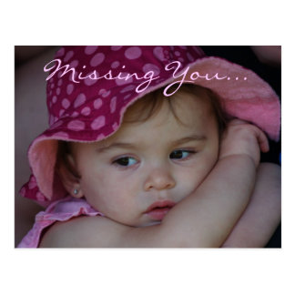 Missing You...Postcard Postcard
