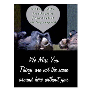 Missing You,Thinking of You_Customize Product Postcard