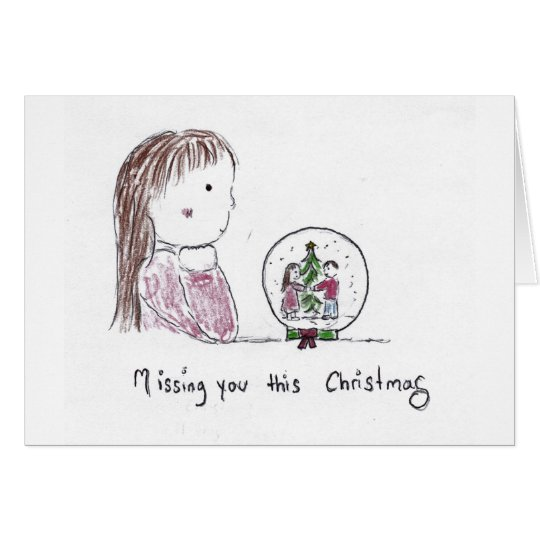 Missing_you_this_Christmas Card