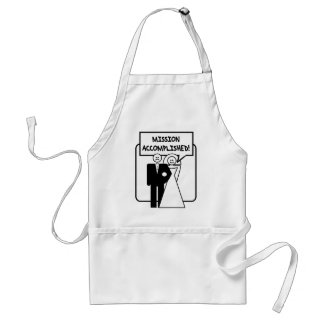 """Mission Accomplished"" Marriage Standard Apron"