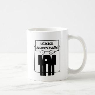 """Mission Accomplished"" Marriage (homosexual) Coffee Mug"