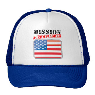 Mission Accomplished United States Cap