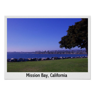 Mission Bay, California Poster