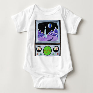 MISSION CONTROL BABY BODYSUIT