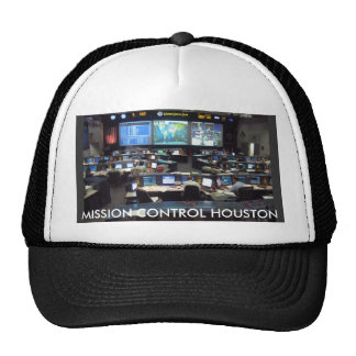 Mission Control Shuttle, MISSION CONTROL HOUSTON Cap