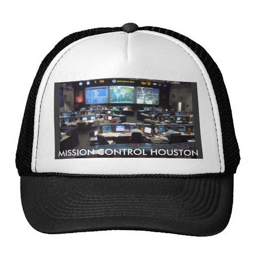 Mission Control Shuttle, MISSION CONTROL HOUSTON Hats