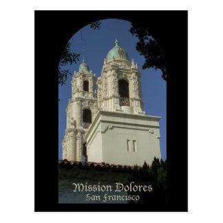 Mission Dolores Postcard
