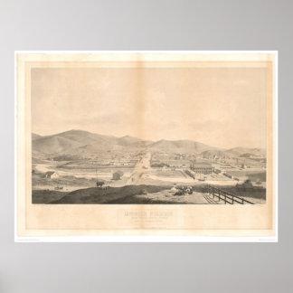 Mission Dolores, San Francisco 1860 (1097A) Poster