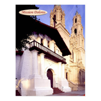 Mission Dolores, San Francisco, California Postcard