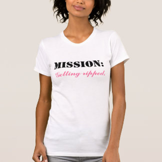"""Mission: Getting Ripped"" Women's Tank Top"