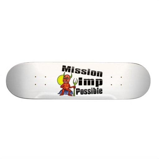 Mission Imp Possible Custom Skateboard
