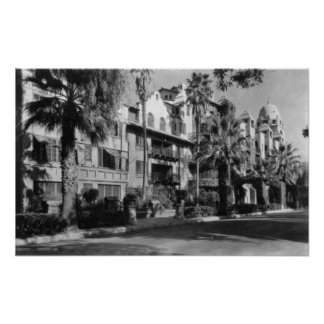 Mission Inn Exterior of Riverside, CA Photograph Poster