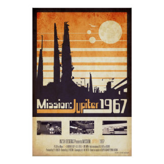 Mission: Jupiter 1967 Poster