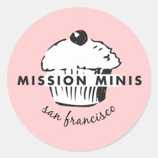 Mission Minis Round Sticker