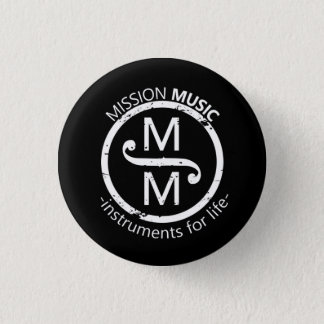 Mission Music Button - Black