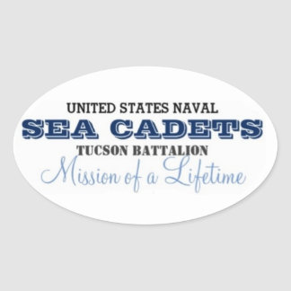 Mission of a Lifetime Oval Sticker
