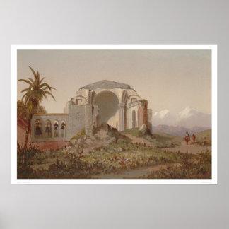 Mission of San Juan Capistrano. Southern CA (1231) Poster