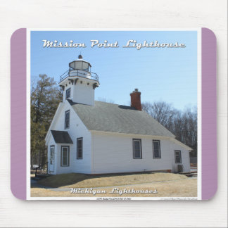 Mission Point Lighthouse - Mousepad Mouse Pad