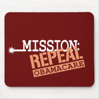 Mission: Repeal ObamaCare Mouse Pad