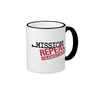 Mission: Repeal ObamaCare Mugs