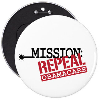 Mission Repeal ObamaCare Pins