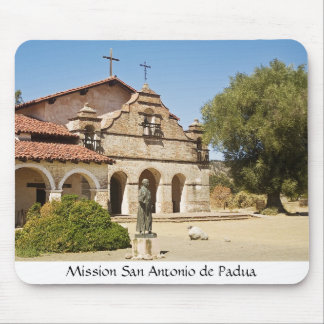 Mission San Antonio de Padua Mouse Pad