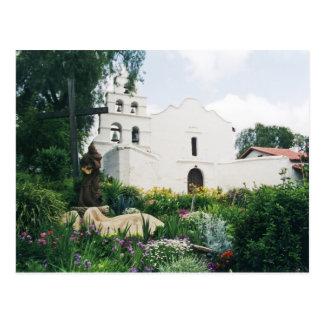 Mission San Diego de Alcala Postcard