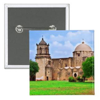 Mission San José Church 15 Cm Square Badge