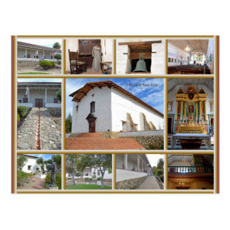 Mission San Jose Postcard