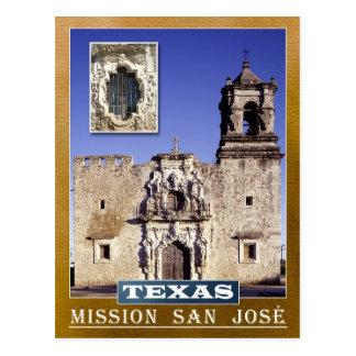 Mission San José, San Antonio, Texas Postcard