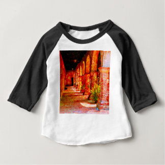 Mission San Juan Capistrano California Abstract Baby T-Shirt