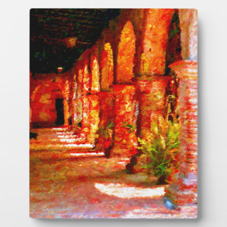 Mission San Juan Capistrano California Abstract Plaque