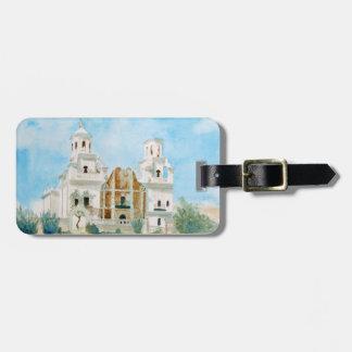 Mission San Xavier del Bac Luggage Tag