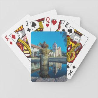 Mission Santa Barbara Playing Cards